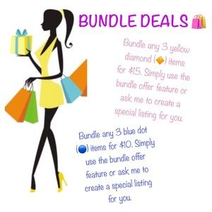 Other - 🔸 Check out my bundle deals! 🔵